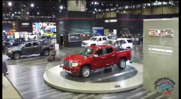 Chicago Auto Show Aerial Video